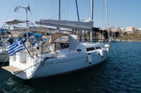 """Hanse 370 in Lavrion """"Sea Horse"""""""