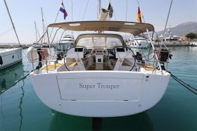 "Hanse 505 in Kaštela ""Super Trouper"""