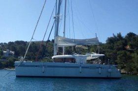 """Lagoon 450 F in Split """"Diva"""""""
