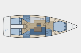 Bavaria Cruiser 46 -3 cab