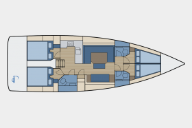Bavaria C45 - 4 Kab.
